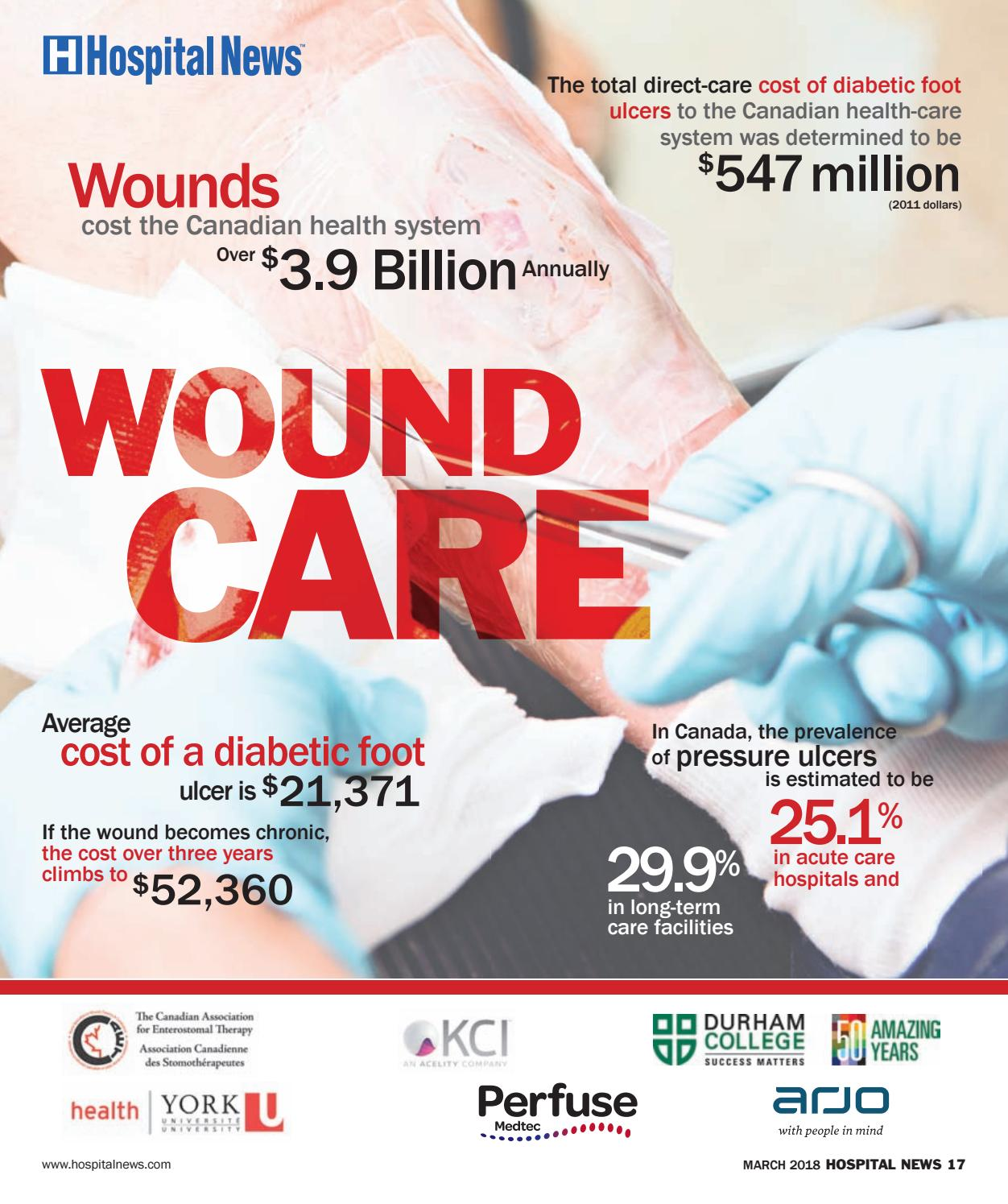 Hospital News Wound Care Supplement 2018 by Hospital News ...