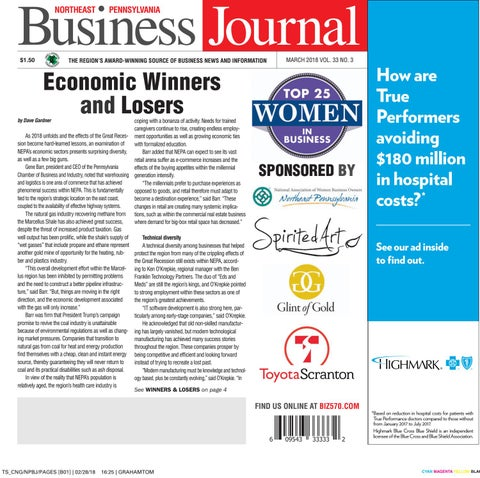 974c419384f5 Northeast Pennsylvania Business Journal - March 2018 by CNG ...