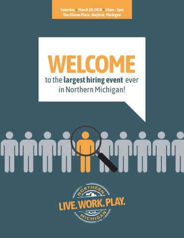 north central michigan college hiring event 2018 by mitchell