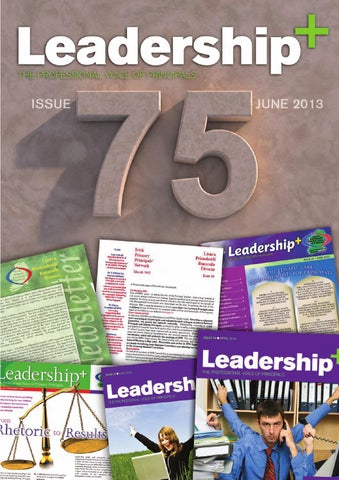 607bbae47fb43 Leadership+ Issue 75 May 2013 by Irish Primary Principals  Network ...
