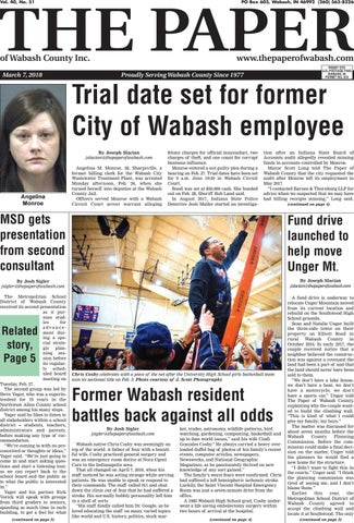 The Paper of Wabash County March 7 issue by The Paper of