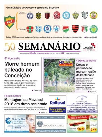 Jornal Semanário – 03 de março de 2018 – Ano 51 – Nº 3417 by Jornal ... e05ee06844