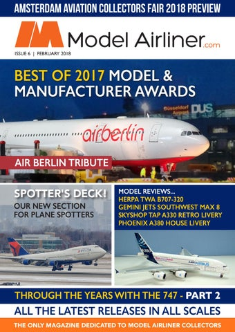 72274745b62e Model Airliner Magazine Issue 6 February March 2018 by Model Airliner  Magazine - issuu