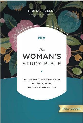 b3c1eef3e8ce The Woman's Study Bible, New International Version by Thomas Nelson ...