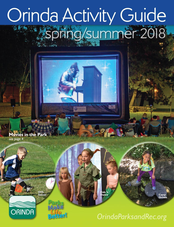 Orinda Activity Guide Spring Summer 2018 by City of Orinda - issuu