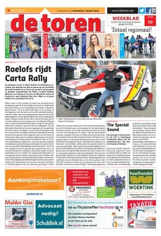 De Toren Week 10 2018 By Weekblad De Toren Issuu