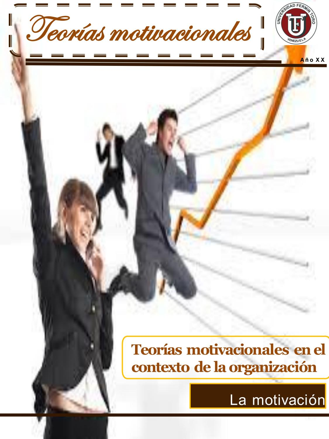 Revista Digital Teorias Motivacionales By Alejandra Rivero