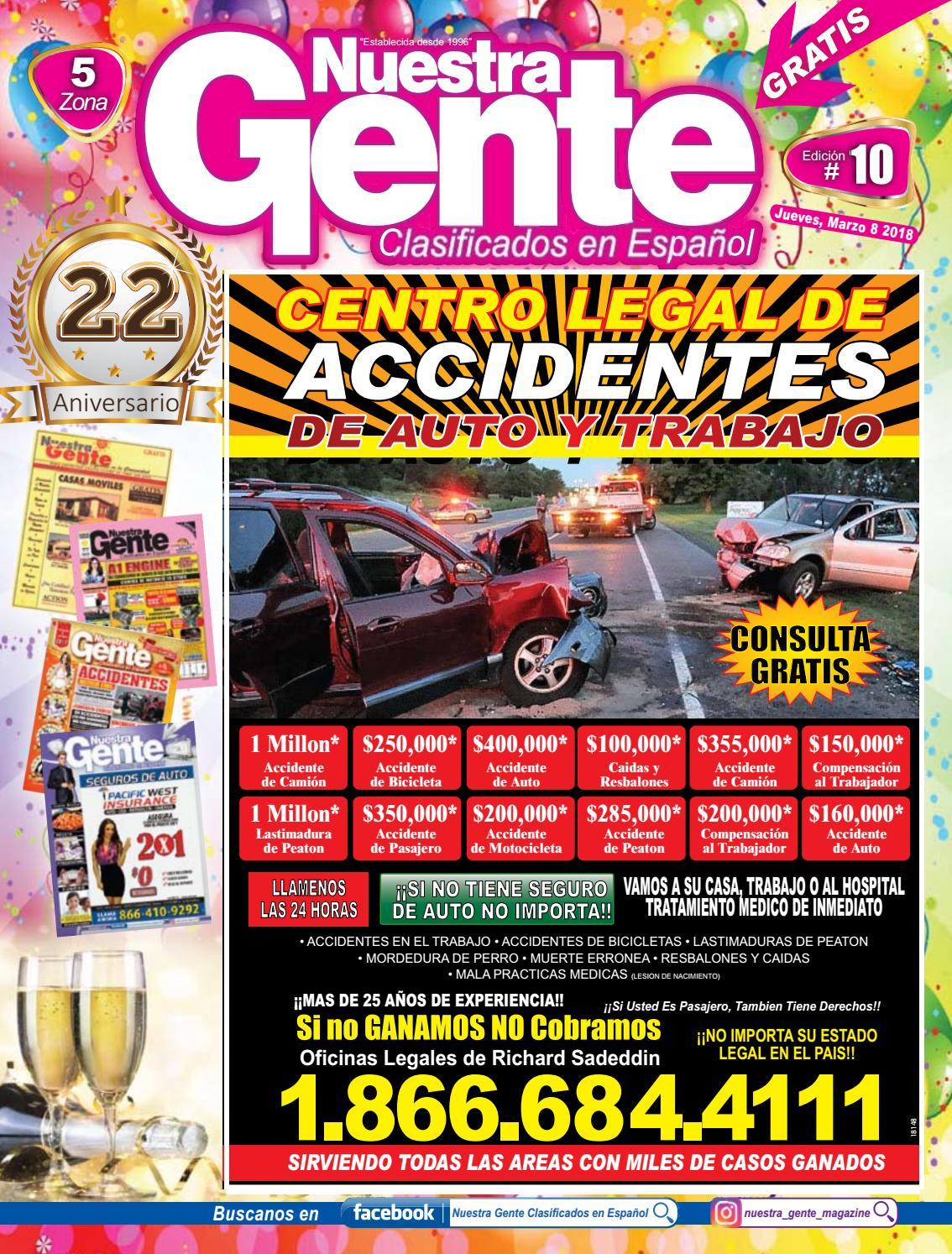 Nuestra Gente 2018 Edicion 10 Zona 5 by Nuestra Gente - issuu