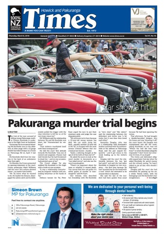 Howick And Pakuranga Times March 8 2018 By Media