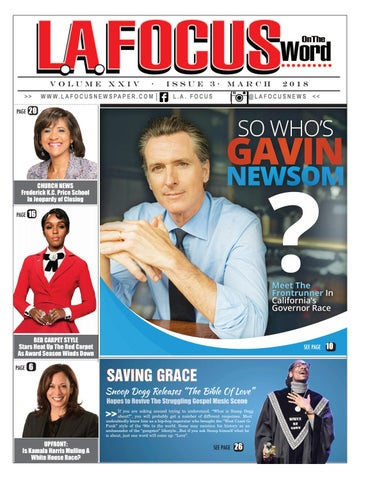 L A  Focus On The Word March 2018 by LA Focus Newspaper - issuu