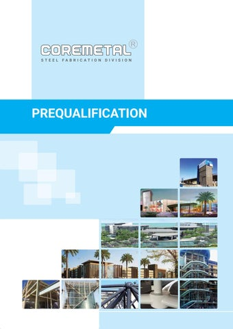 Prequalification coremetallic by sanoj - issuu