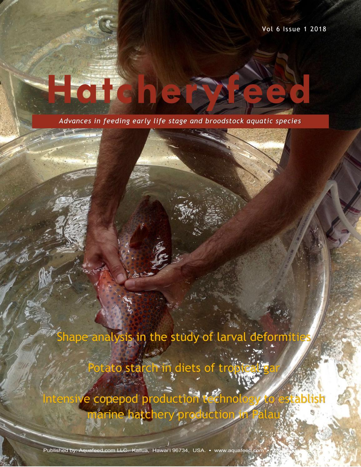 Hatcheryfeed vol 6 issue 1 2018 by Aquafeed com - issuu
