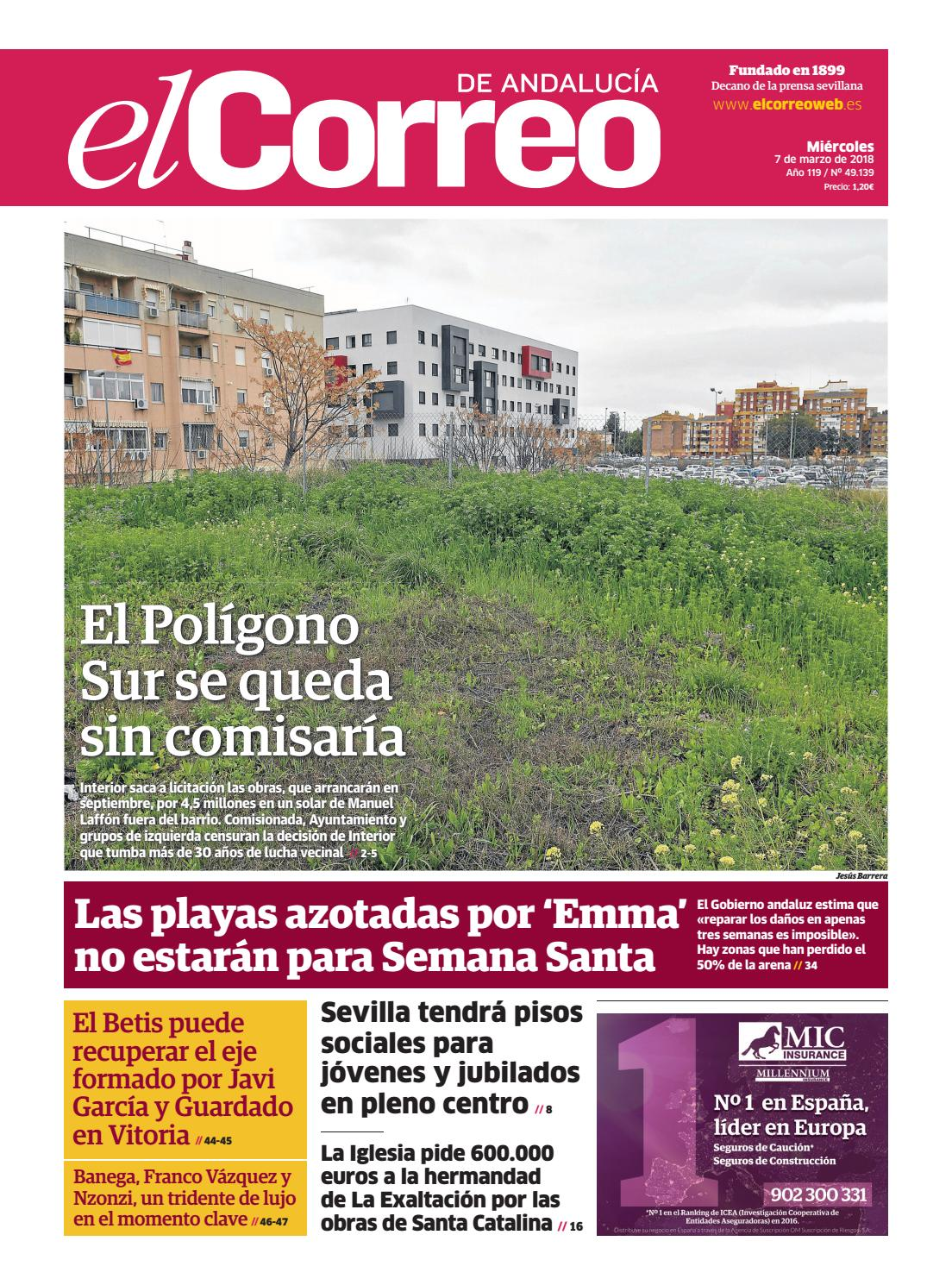 07.03.2018 El Correo de Andalucía by EL CORREO DE ANDALUCÍA S.L. - issuu