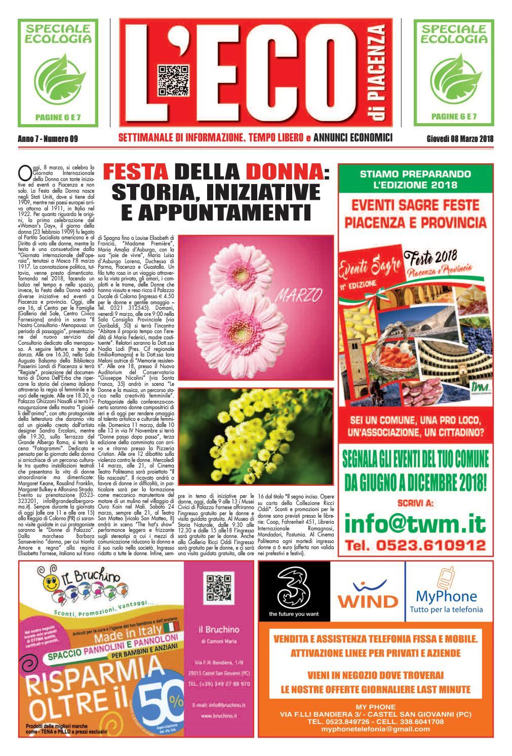 Schemi Elettrici Lesa : Eco di piacenza 08 03 2018 by eco di piacenza issuu