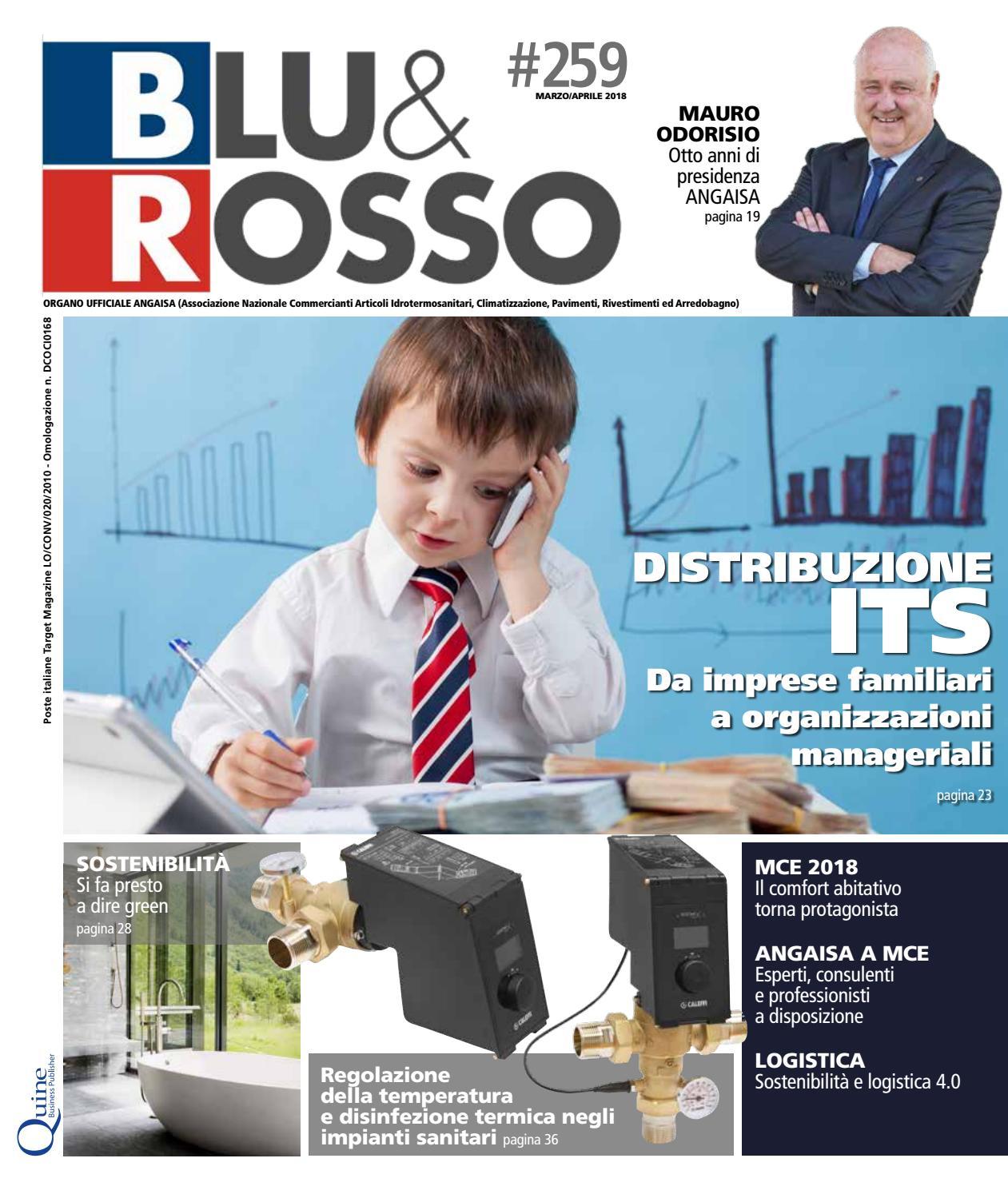 Sanitaria Lodigiana Arredo Bagno.Blu Rosso N 259 Marzo Aprile By Quine Business Publisher Issuu