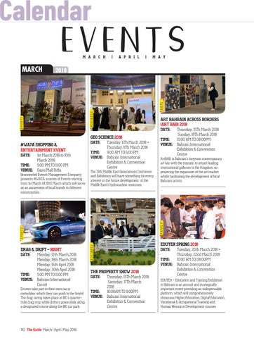 Page 110 of Events Calendar