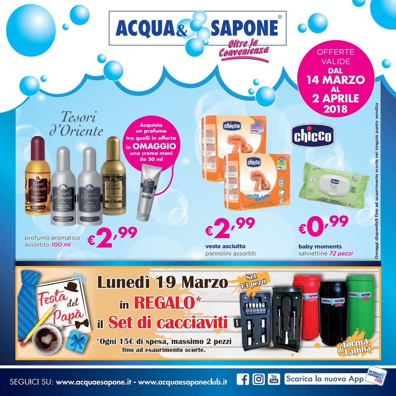 Volantino acqua sapone n 5 2018 by acqua sapone for Asclub volantino