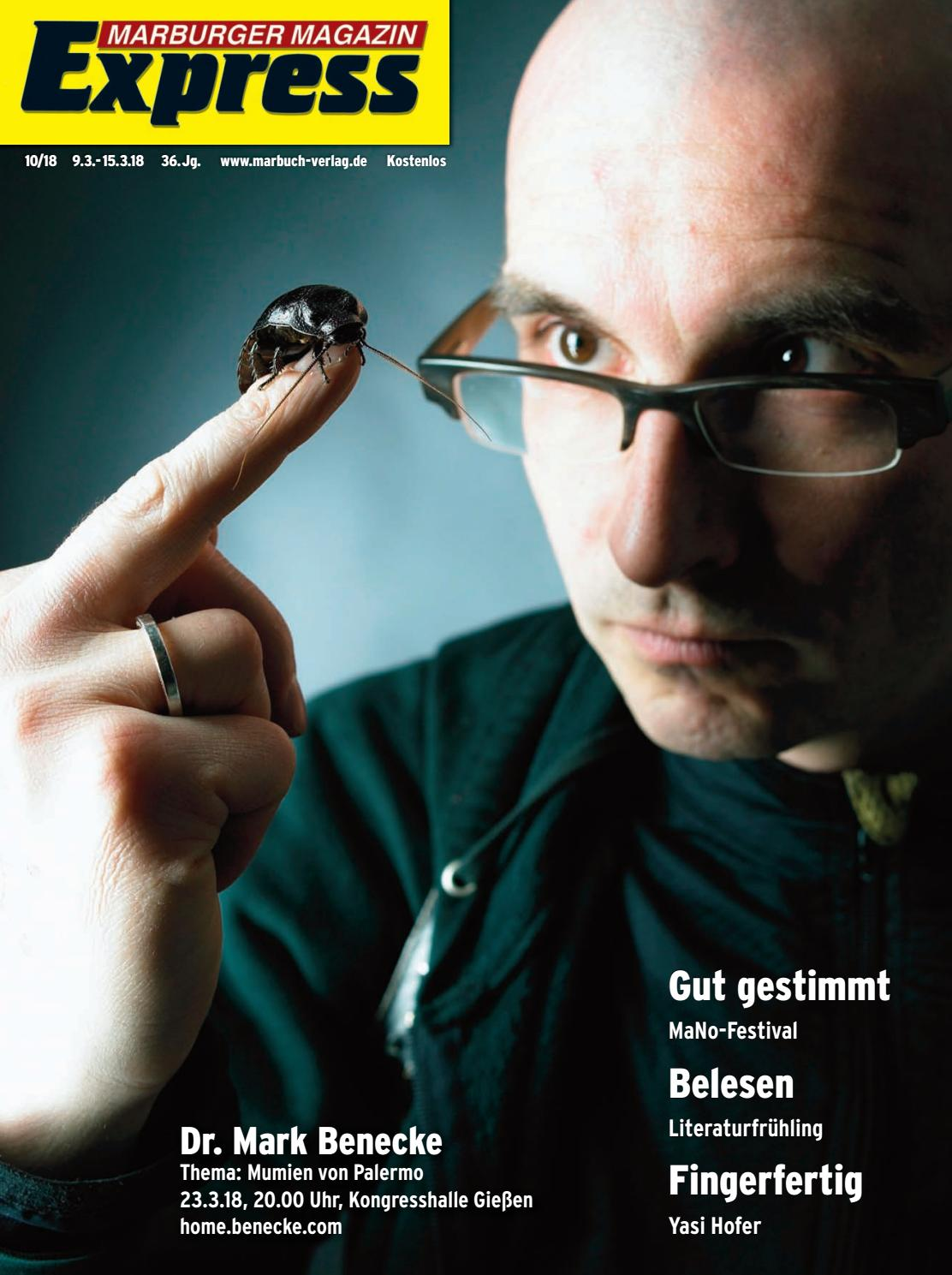 Marburger Magazin Express 10 2018 By Ulrich Butterweck Issuu
