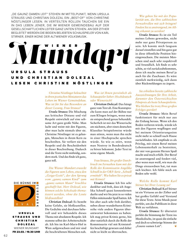 Europark Magazin 0118 By Europark Salzburg Issuu