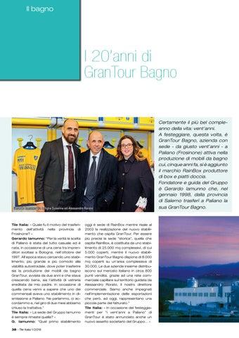 Page 42 of Gran Tour Bagno festeggia i 20 anni