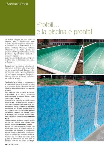 Page 76 of Impermeabilizzare una piscina. Come?