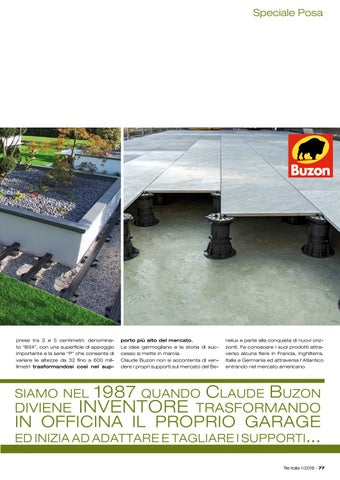 Page 81 of Buzon Pedestal... tutto è iniziato in un garage!