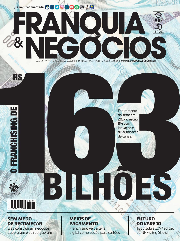 Revista Franquia   Negócios ABF nº 77 by Editora Lamonica Conectada - issuu 7f1deec46c