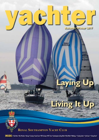 Royal Southampton Yacht Club Yachter Autumnwinter 2017 By Ludis