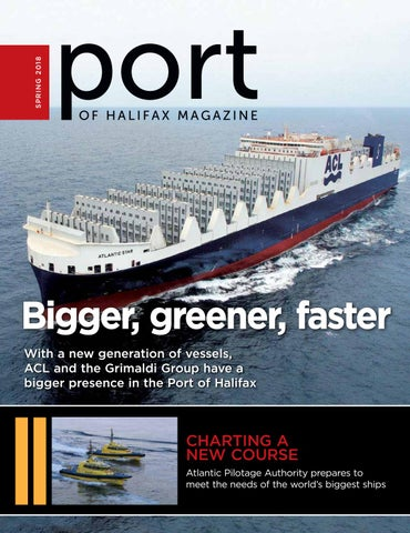 Port of Halifax Spring 2018 by Metro Guide Publishing - issuu