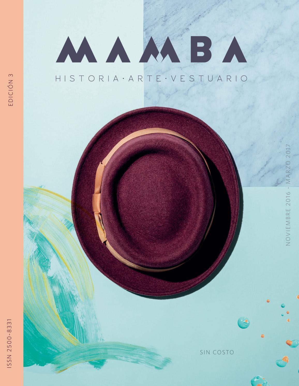 117923473c7 Mamba Edición 3 Sastrería by Revista Mamba - issuu