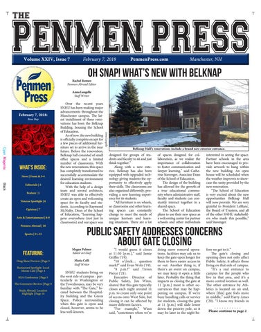 Issue 7 (SP18) by Penmen Press - issuu