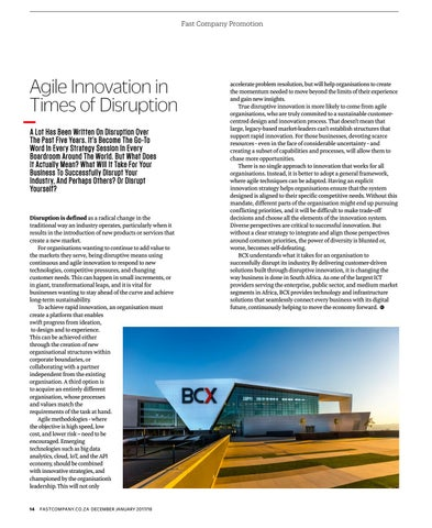 Page 16 of Agile Innovation in Times of Disruption