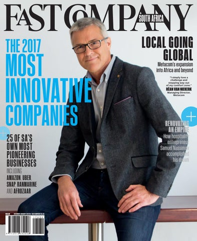 ec6850f1a73 Fast Company SA Dec   Jan 2017 18 - Issue 32 by Fast Company SA - issuu