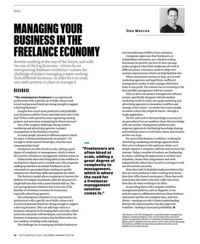 Page 98 of Managing your business in the freelance economy