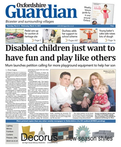 1936685b 08 march 2018 oxfordshire guardian bicester by Taylor Newspapers - issuu