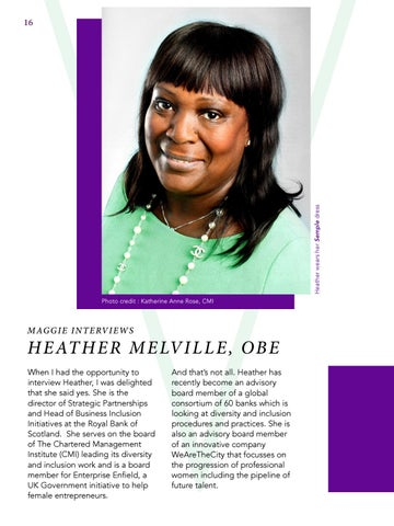 Page 16 of Heather Melville, OBE