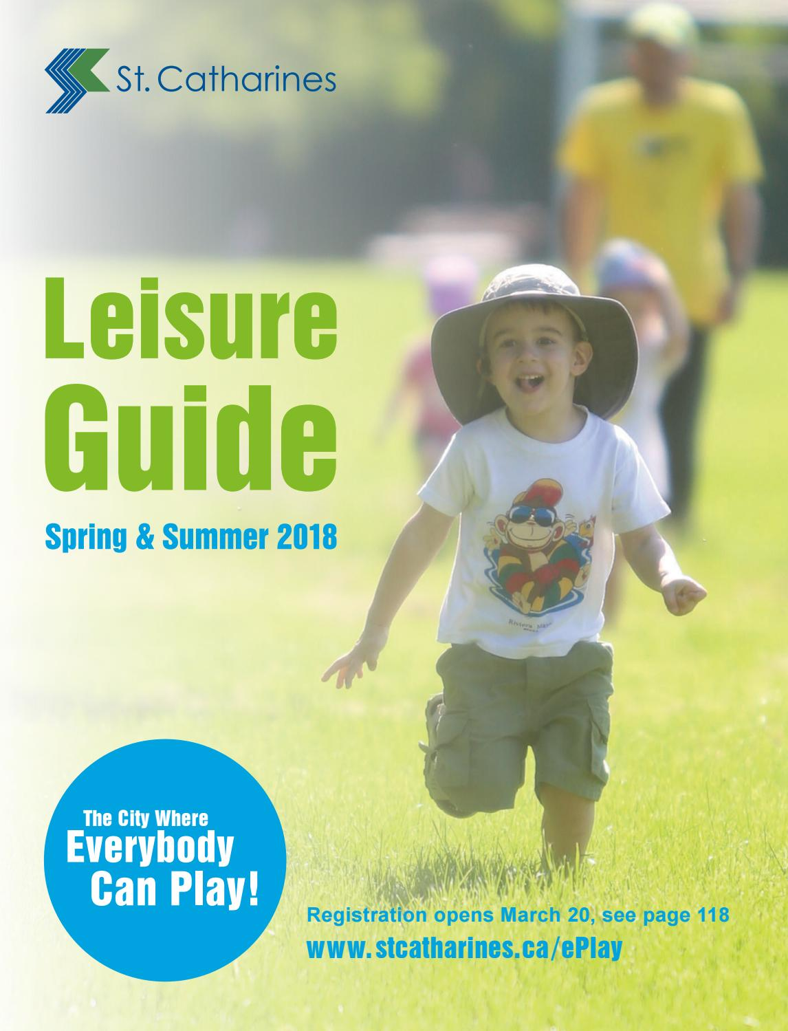 Leisurely Summer Reading Childs Play >> St Catharines Summer 2018 Leisure Guide By Esolutionsgroup Ltd Issuu