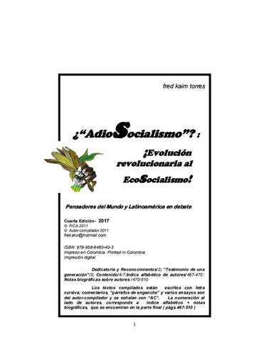 AdioSocialismo