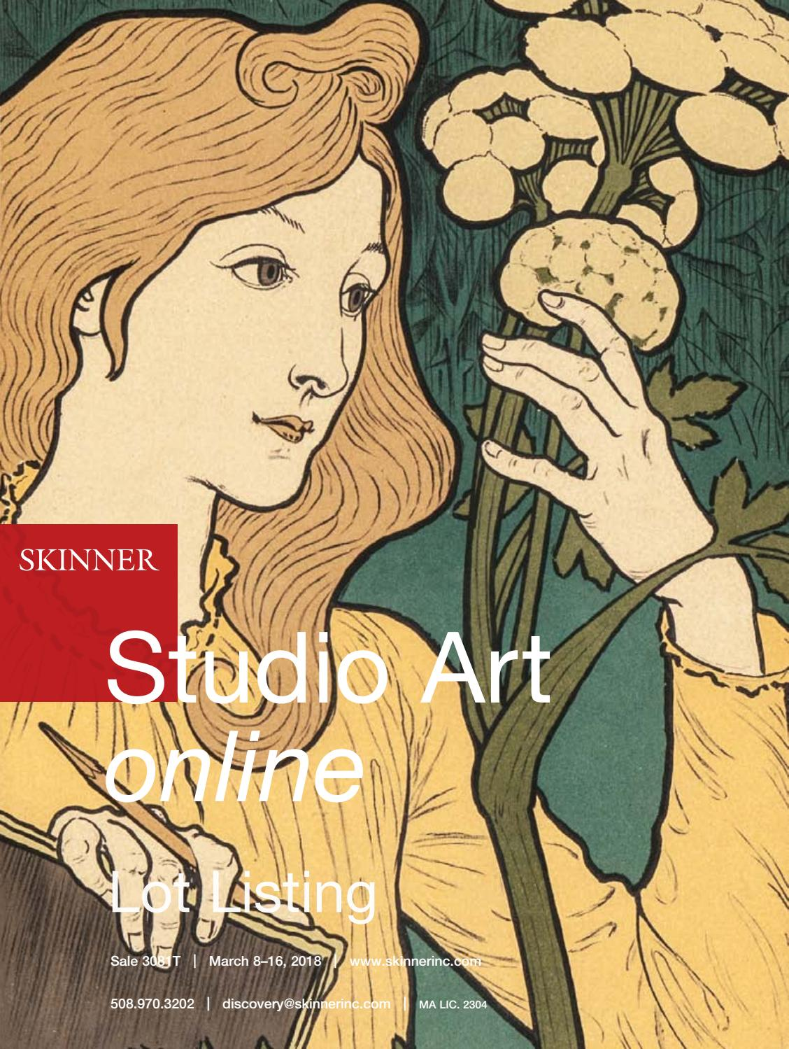 Studio Art online | Skinner Auction 3038T by Skinner, Inc. - issuu