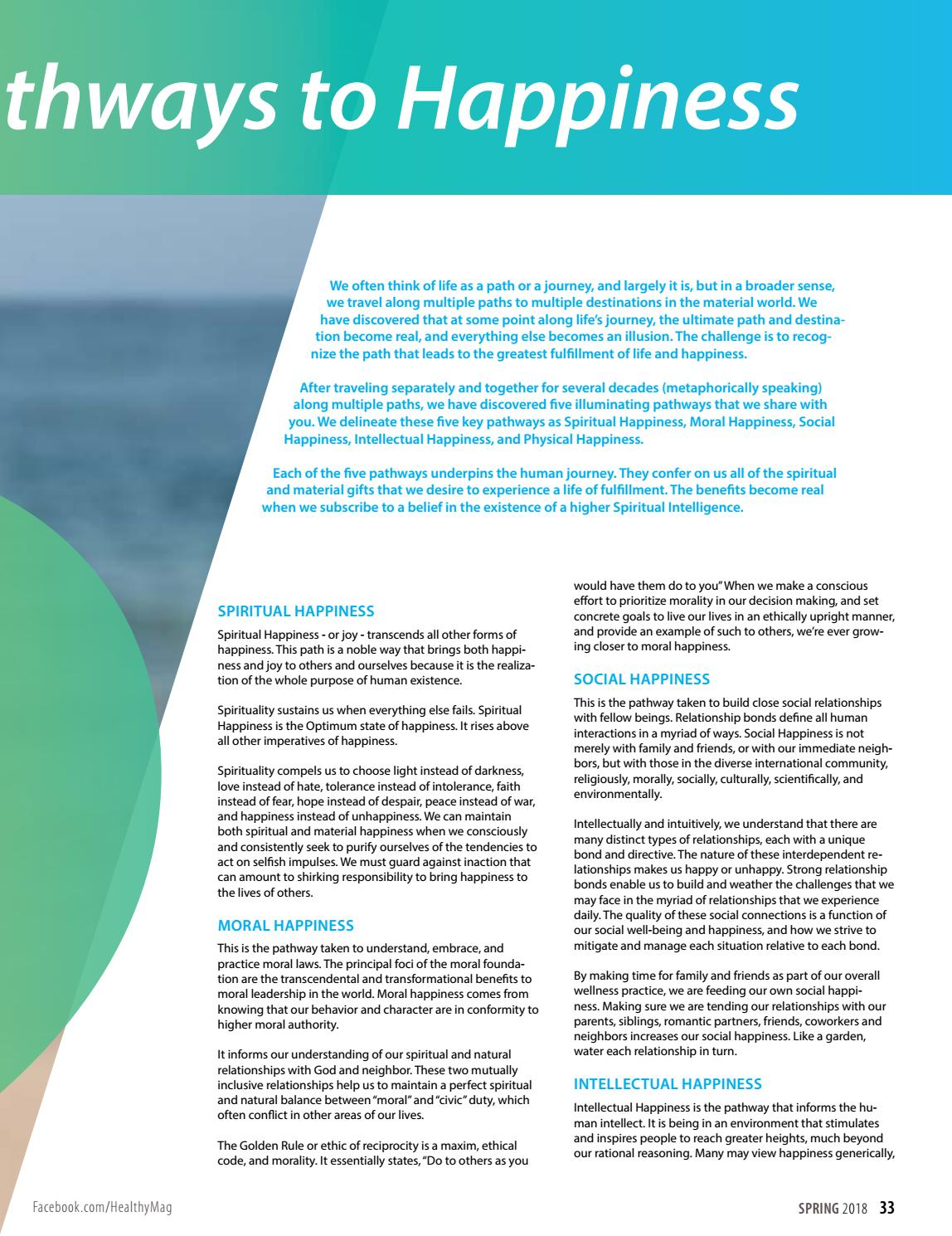Healthy Magazine | Spring 2018 by Healthy Magazine - issuu