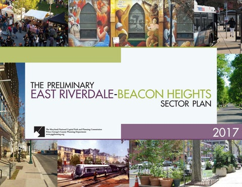 Beacon Of Literacy Illuminating Night >> Preliminary East Riverdale Beacon Heights Sector Plan By Maryland