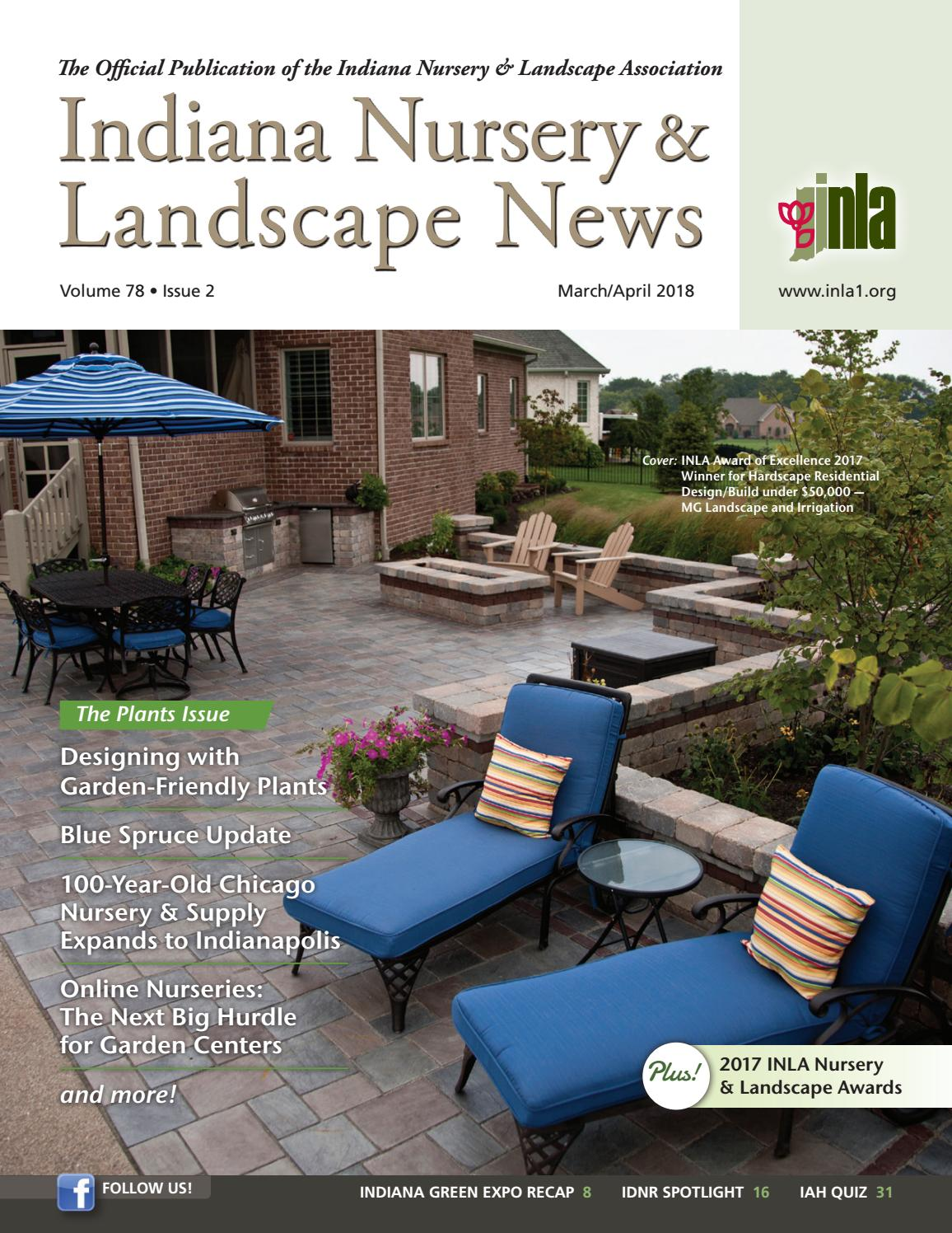 Indiana Nursery Landscape News March April 2018 By