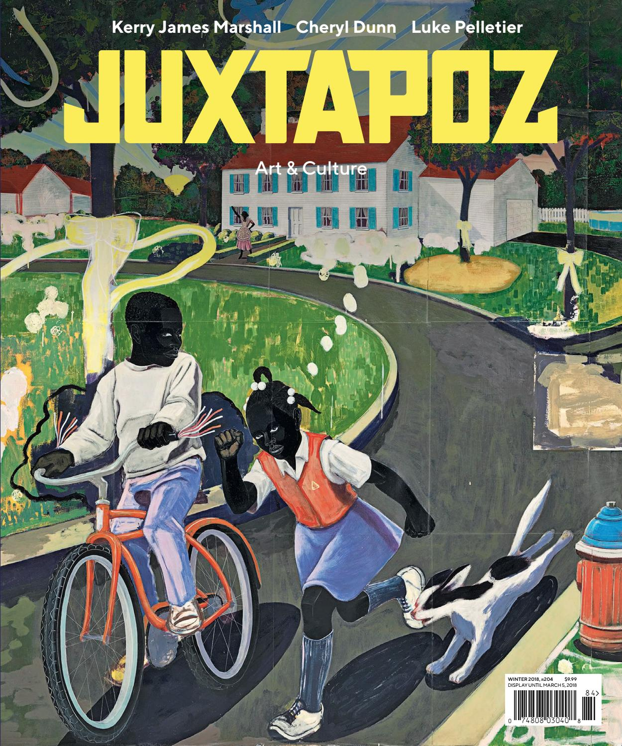 Juxtapoz art amp amp culture january 2018 by Lucoment - issuu 2a8436f7aece4
