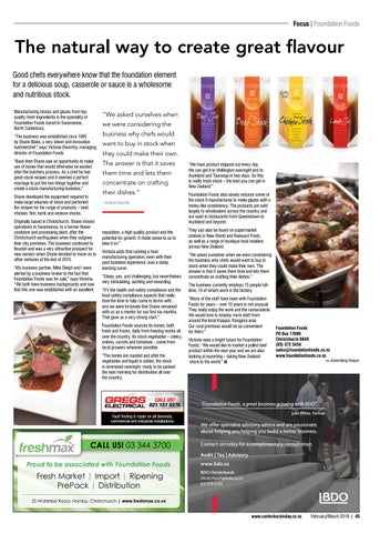 Canterbury today magazine issue 149 by academy group issuu focus foundation foods forumfinder Image collections