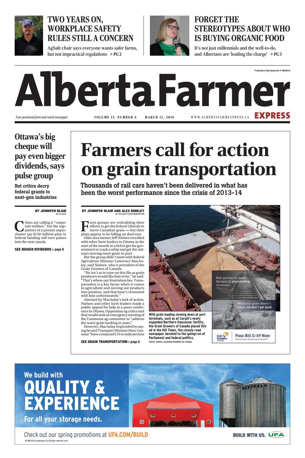 Alberta Farmer Express By Farm Business Communications Issuu Titan Toro 5200 Wiring Diagram