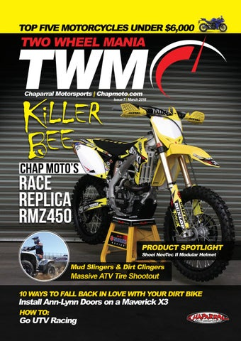 a0a6df7091 March 2018 Issue of Two Wheel Mania Magazine by ChapMoto.com ...