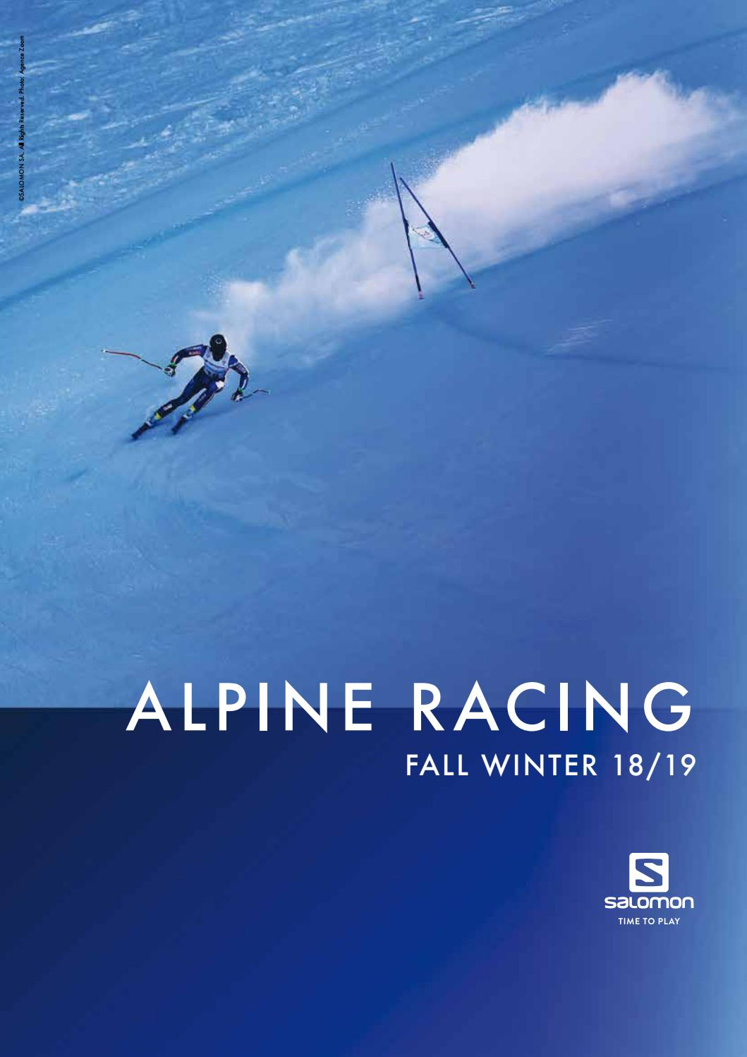 2c9a8d3970 SALOMON katalog 2018-2019 by skirace.sk (professionalsport, s.r.o. ...