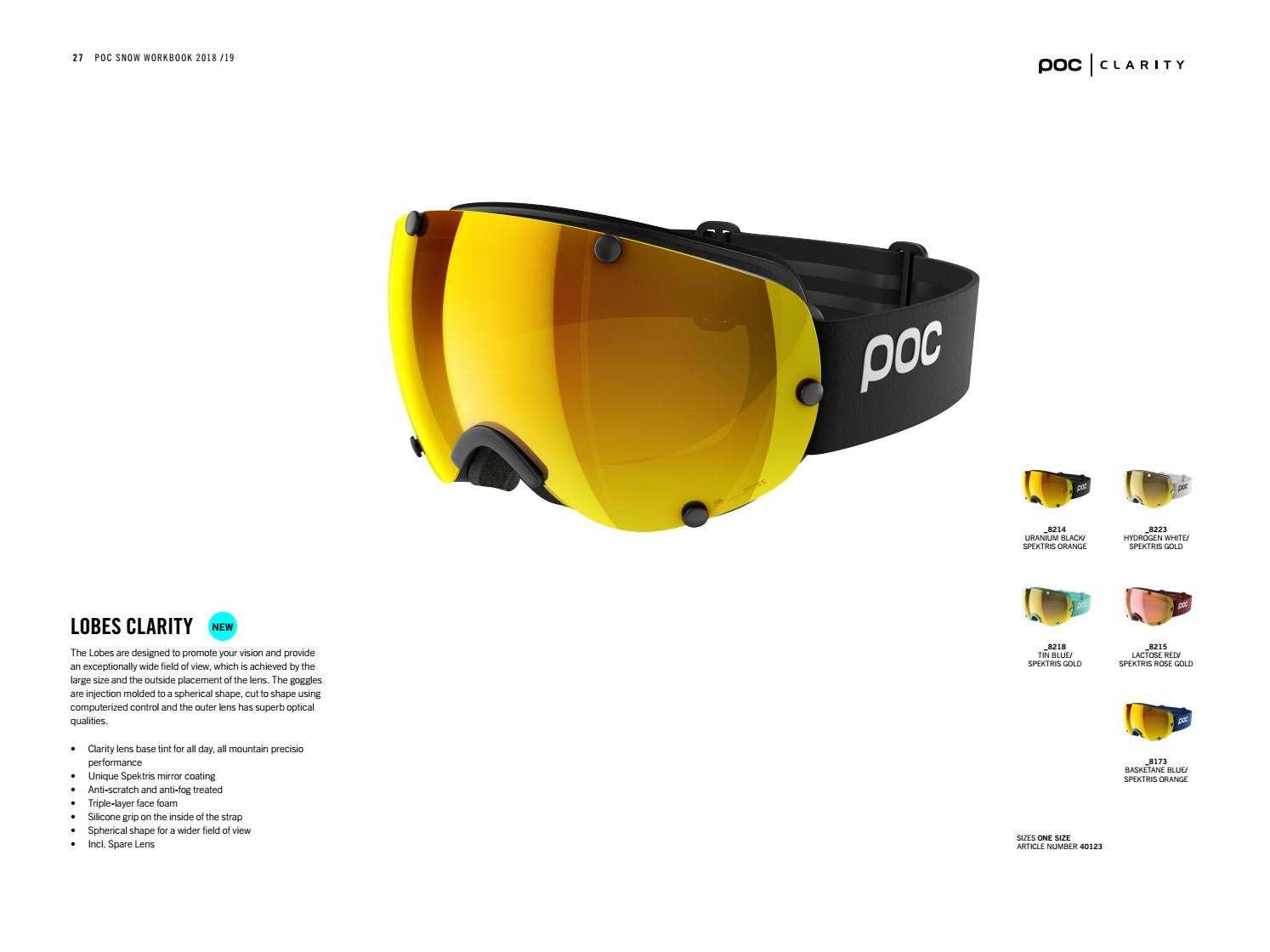 4d3c829b1d POC katalog 2018-2019 by SkiRace by ProfessionalSport