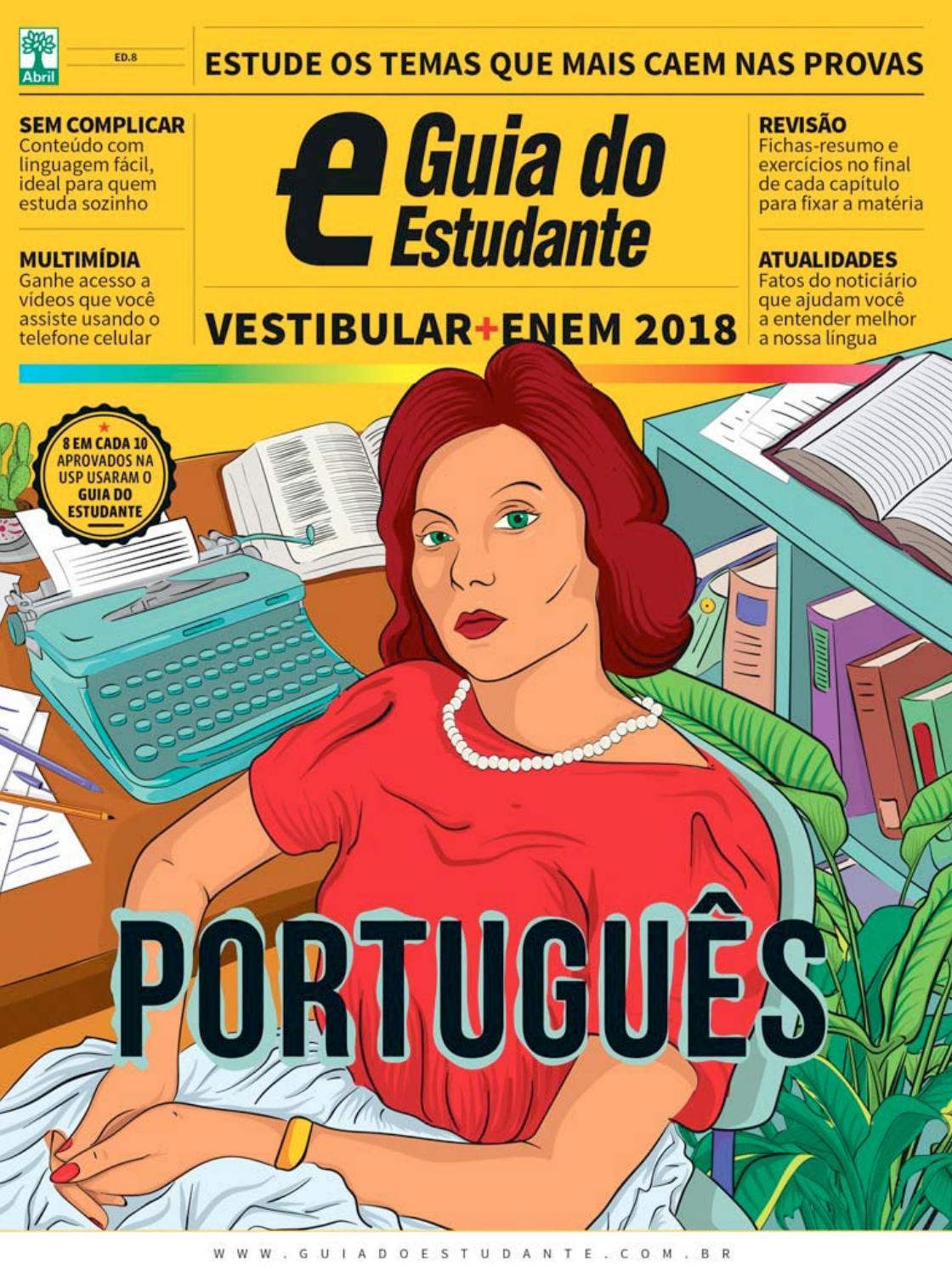 6cfe3b21aa Guia do estudante português (2018) by Sandro Baldez - issuu