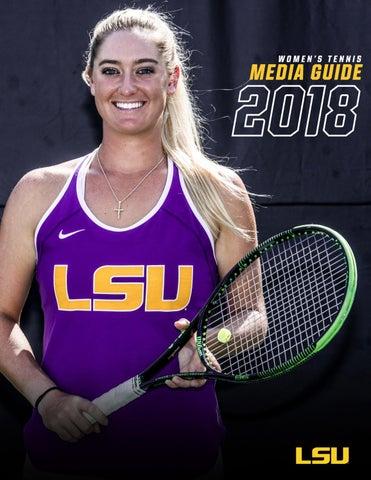 online retailer d1388 6bc92 2017-18 LSU Womens Tennis Media Guide